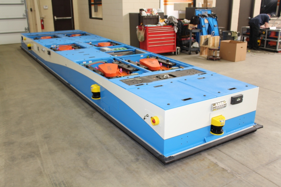Fori + Fori AGV + Aerospace AGV + Aerospace Automated Guided Vehicle + Aerospace Automated Material Handling