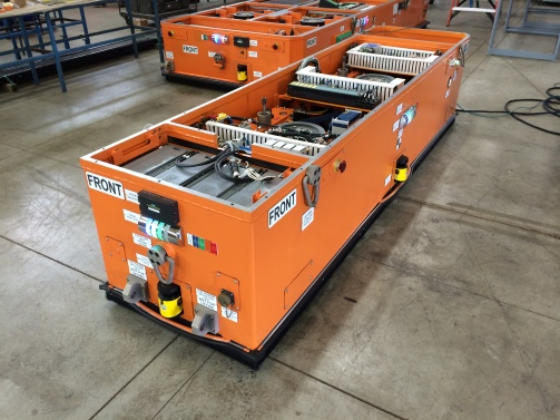 Automated Guided Vehicle + AGV + Fori + Nuclear AGV + Nuclear Material Handling