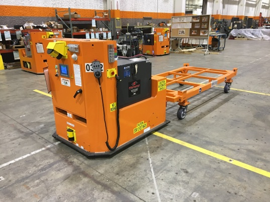 AGV + Automated Guided Vehicle + Automated Material Handling