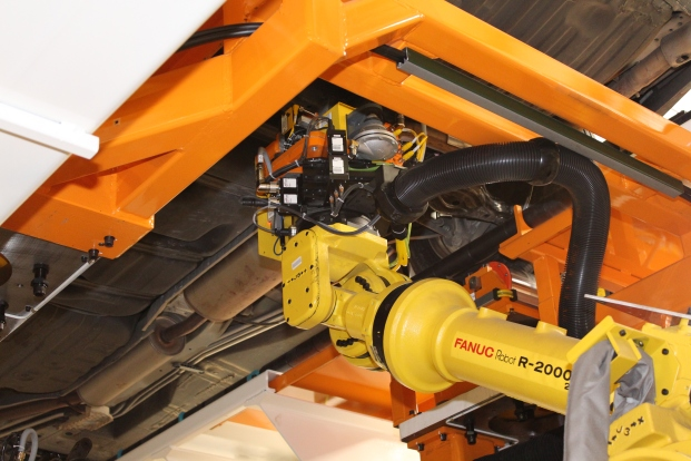 Robotic Toe Set + End of Line System + Wheel Alignment + Fori