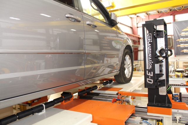 End of Line Testing + Fori + Wheel Alignment + Head Lamp Aiming + Automated Toe Set