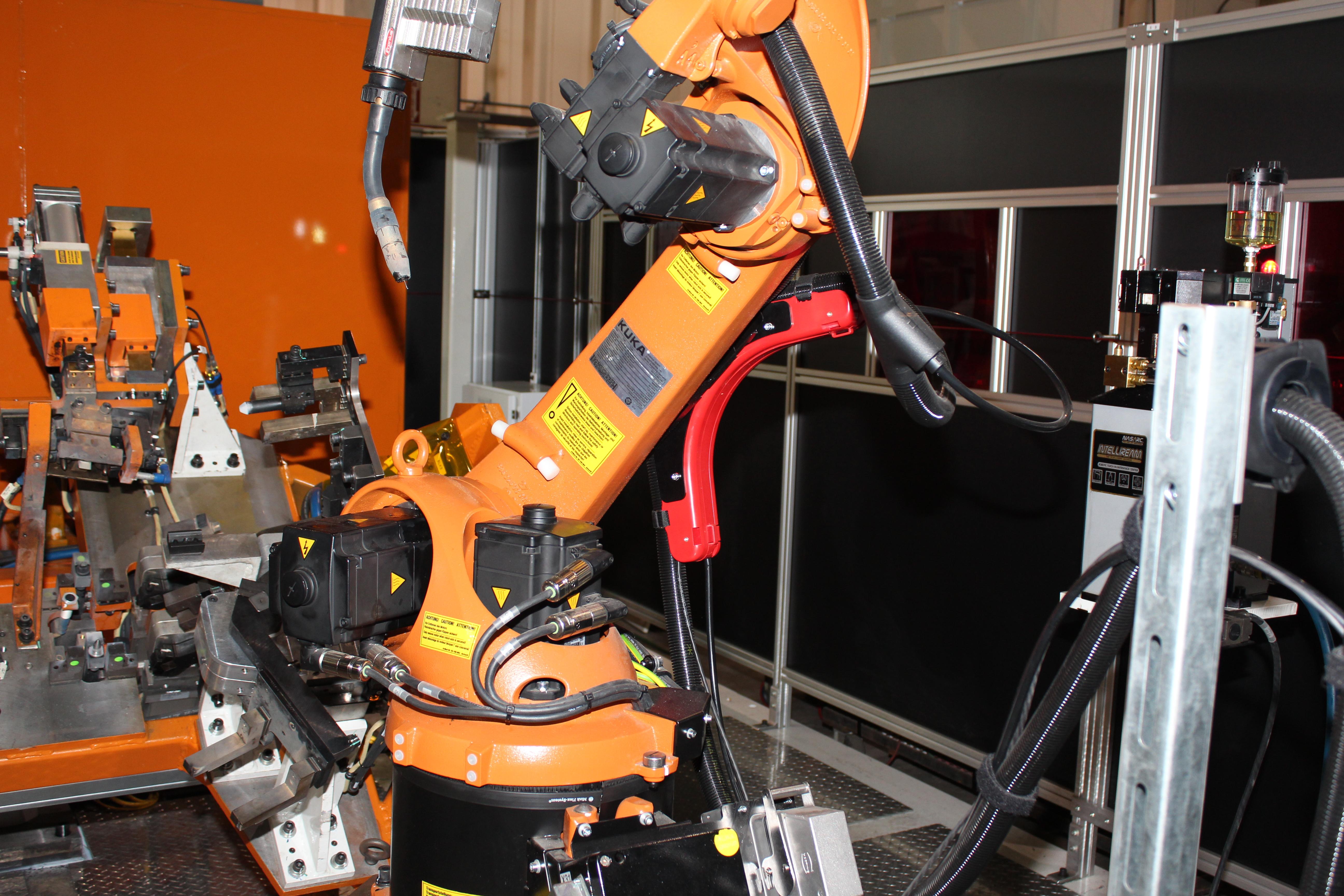Robotic Welding + Robot + Automated Welding + Fori