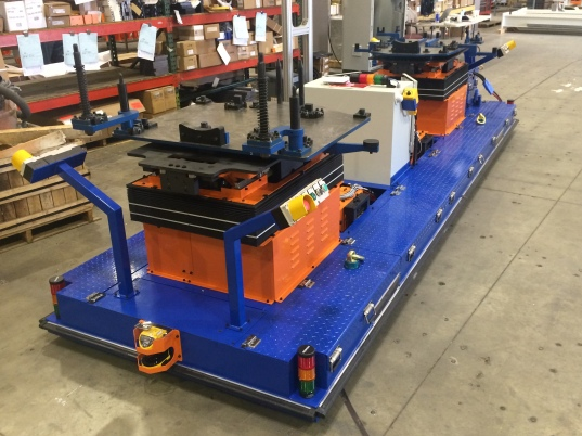 Fori - Automated Guided Vehicle (AGV) for Chassis Marriage