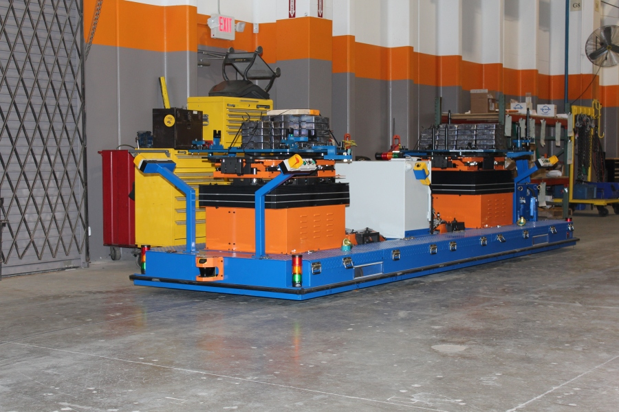 Chassis Marriage, Chassis Marriage AGVs, Chassis Marriage Automated Guided Vehicles, Electric Chain Lifts