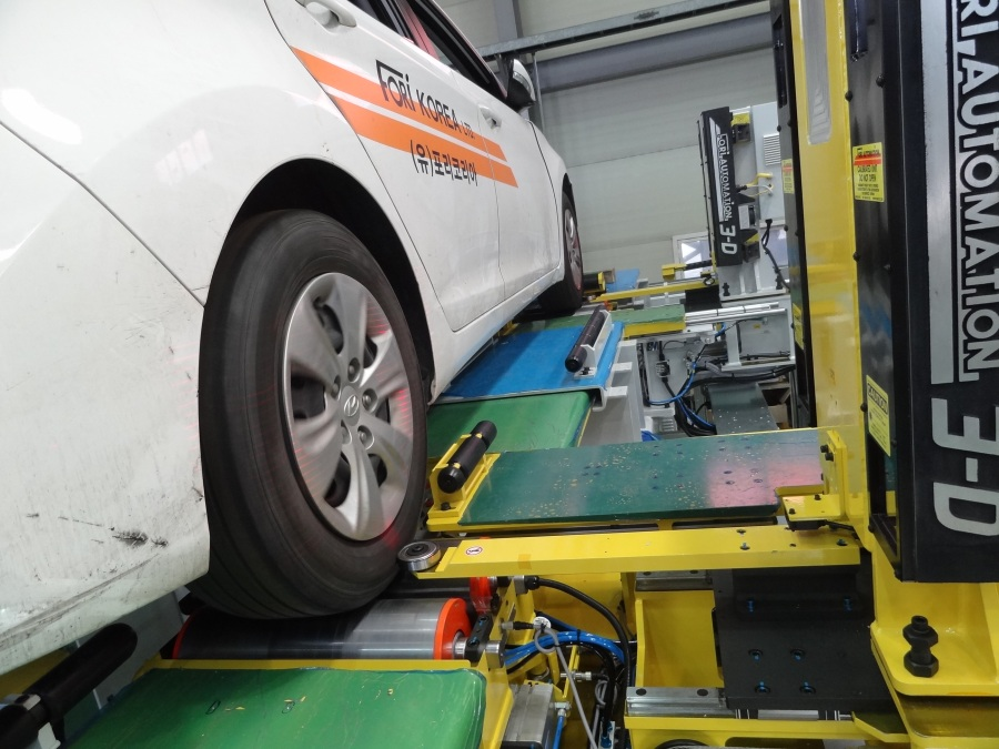 End of Line Testing, Automotive End of Line (EOL), Headlamp Aiming, Safety Calibration Systems, 3D Wheel Alignment