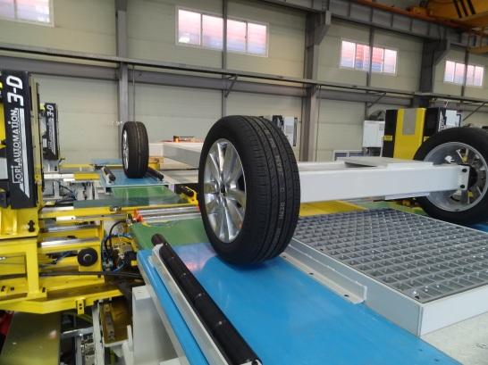 Fori - End of Line Test System - Wheel Align, Headlamp Aim, Roll & Brake - 2